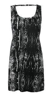 Rattlesnake Tank Dress www.silvericing.com/lauramackinnon