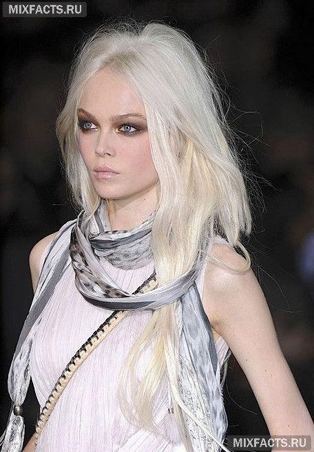 модные цвета блонда