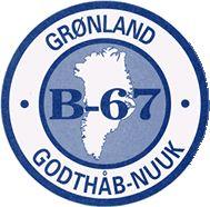 1967, B-67 (Nuuk, Greenland, Denmark) #B67 #Nuuk #Greenland #Denmark (L16052)