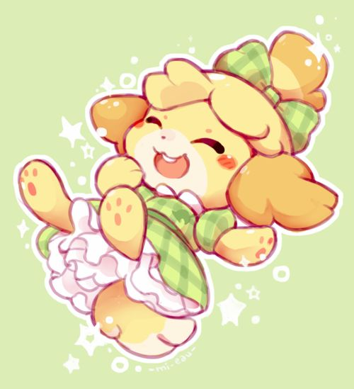 That video made the nintendo characters look both cute and weird. Isabelle was a cute one! ^-^