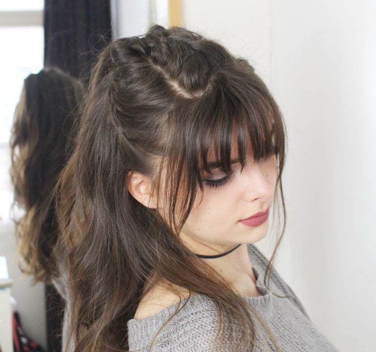 Bangs + braids