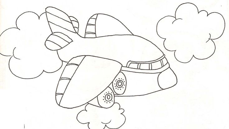Coloriage avion avion 6 dessin pinterest search - Coloriage avion ...