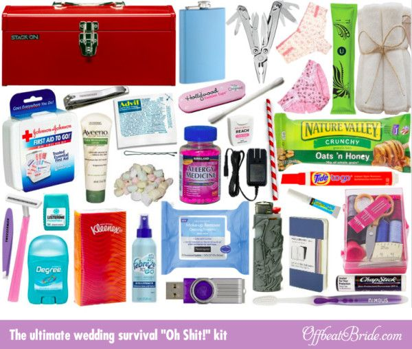 The Ultimate Wedding Day Surprise: 17 Best Ideas About Bridal Survival Kits On Pinterest