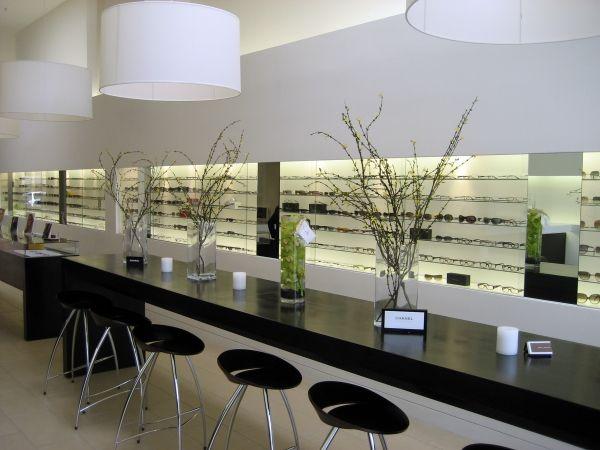 Modern Optometric Eyeglass Display Optique Store Designs