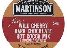 Martinson Wild Cherry Dark Chocolate Light Roast Real Cups 24ct