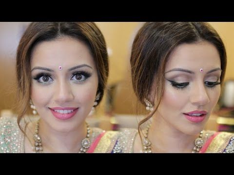 Indian Wedding Get Ready With Me | Eid Makeup Look | Kaushal Beauty - YouTube