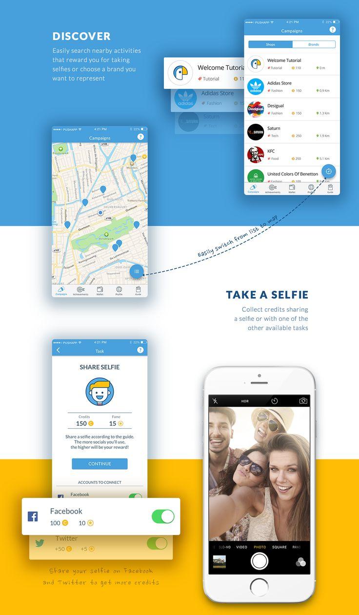 Bemyspot - iOS & Android app on App Design Served