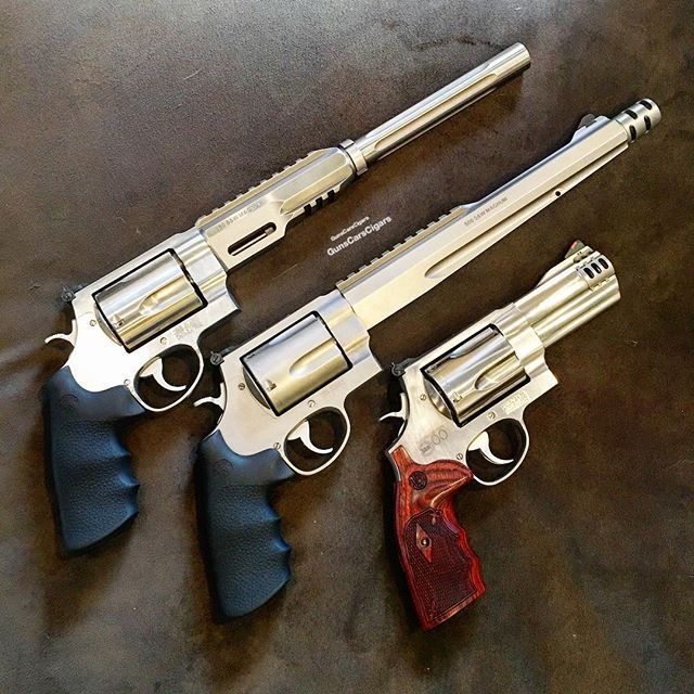 Smith & Wesson Power Trio 500 & 460 Performance Center -