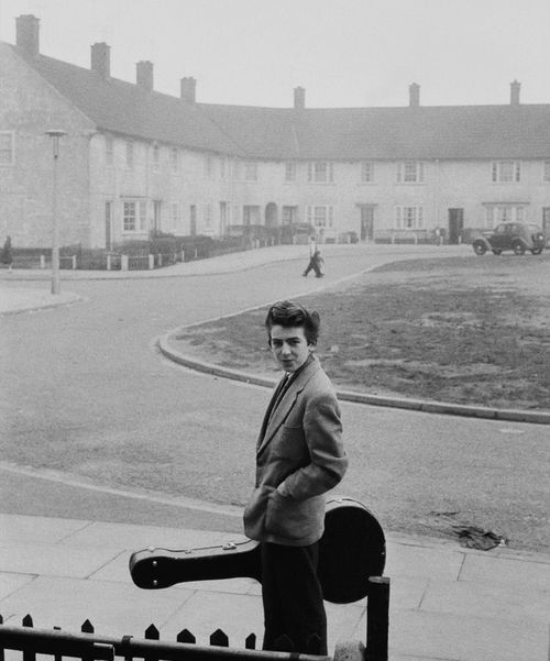 "Unknown photographer, 1950s, Young George Harrison ""If you don't know where you're going, any road'll take you there""― George Harrison, Cloud Nine On Feb. 25, George Harrison would have celebrated his 70th birthday.May his soul rest in the sky with diamonds peace. » more photos of famous people «"