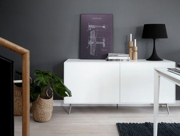 Fermo designer sideboard - white