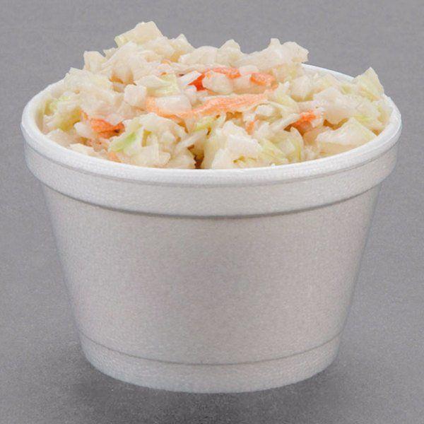 Dart 3 5j6 3 5 Oz Customizable White Foam Food In 2020 Food