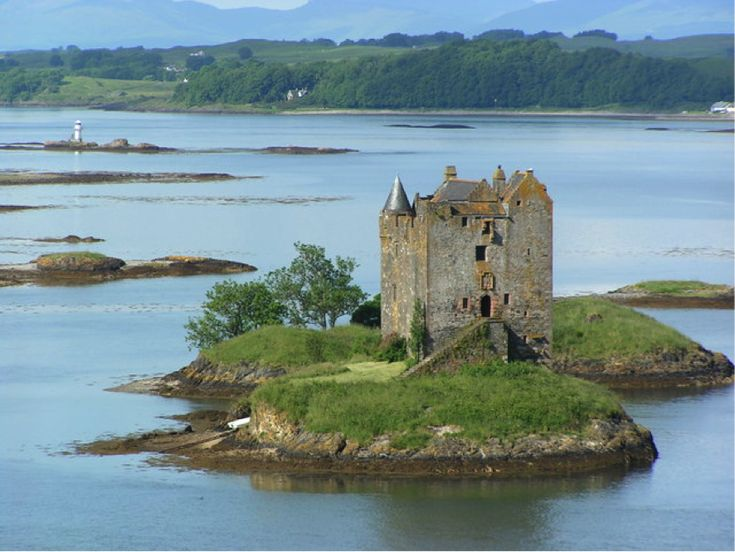 Image result for fantasy pictures of island in a loch