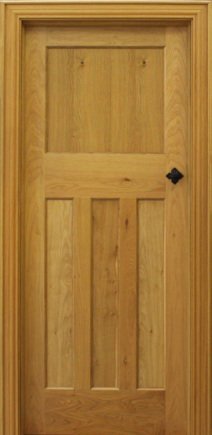 Edwardian Pippy Oak Door (40mm) | Internal Doors | Pippy Oak Doors