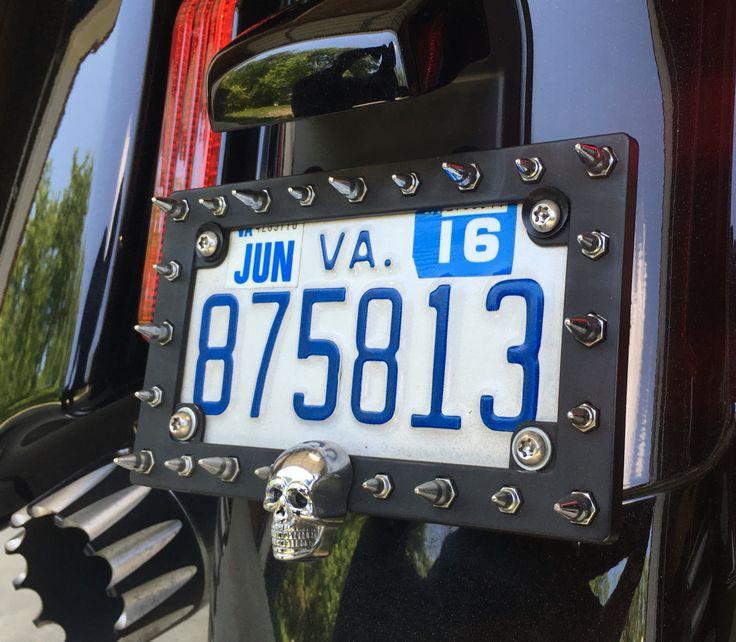 Homemade license plate