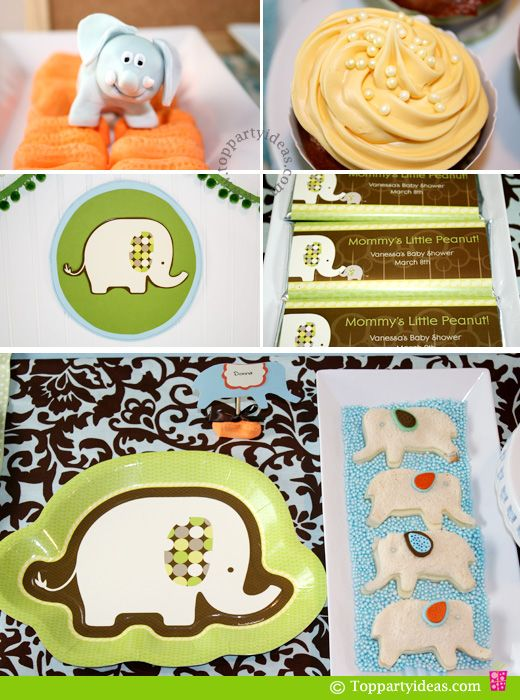 #Elephant food and party ideas.