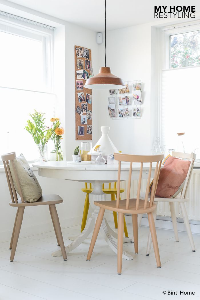Painted Chairs And Table | Flexa Creations | Binti Home Blog