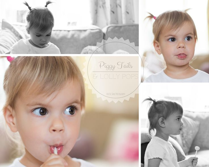 Piggy Tails and Lolly Pops! At Home Toddler Girl Photoshoot
