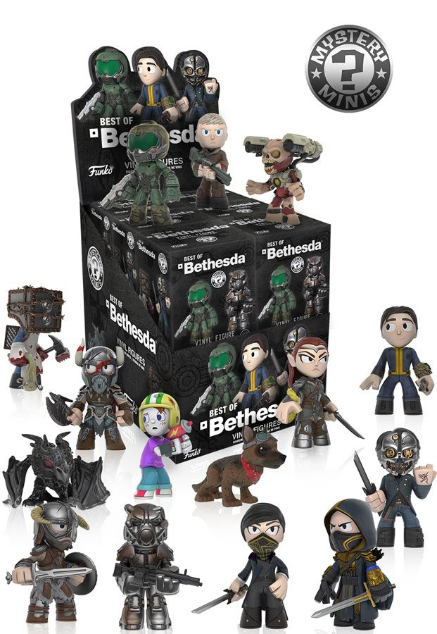 736cd248f76 Bethesda Mystery Minis figures by Funko | Vinyl Figures | Mystery minis,  Funko mystery minis, Vinyl figures