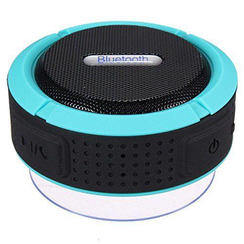 FosFun fub02Enceintes Bluetooth Sans Fil Portable haut-parleurs: Prendre une douche avec toute la bande et chanter vos chansons préférées…