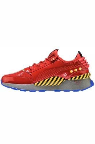 89ff1abf622 PUMA X SEGA RS-0  DR. EGGMAN  (RED YELLOW DARK GREY) Sonic the Hedgehog  size11.5