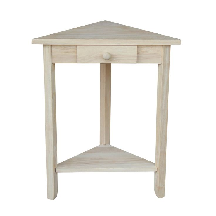 International Concepts OT-95 Corner Accent Table | ATG Stores