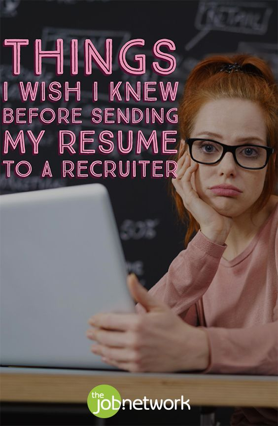 A bad resume is one of the following: hard to read, covered in errors, confusing or completely unrelated to the job in question. If your resume has one of these disadvantages, it goes in the trash right away. To help you avoid the same mistakes, here are 4 things I wish I knew before sending my resume to a recruiter.
