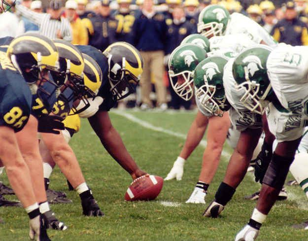 The Michigan vs. Michigan State argument is always fun to have.