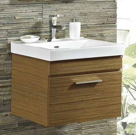 Contemporary Art Sites WV Fairmont Metropolitan Wall Mount Vanity and Sink Set