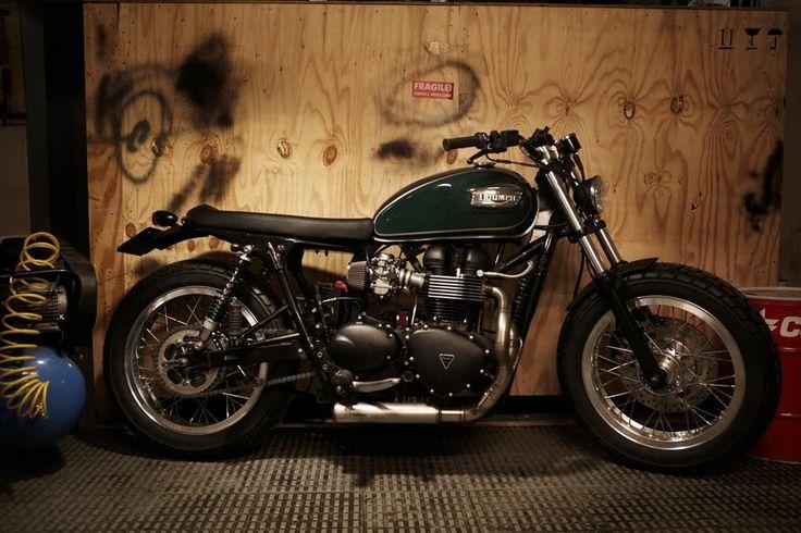 Custom Triumph Bonneville by Cafe Racer Dreams