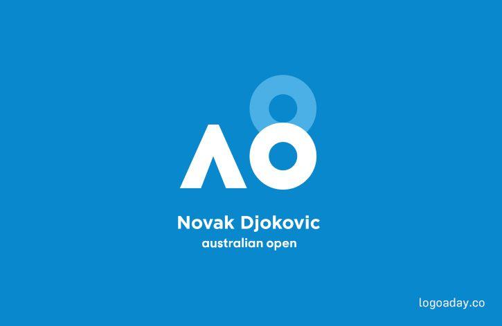 Novak Djokovic S 8th Ao Title In 2020 Novak Djokovic Logos 100 Logo