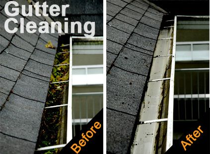 how to clean out an underground gutter drain