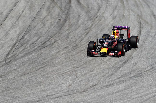 Infiniti Red Bull Racing at the 2015 Malaysian Grand Prix