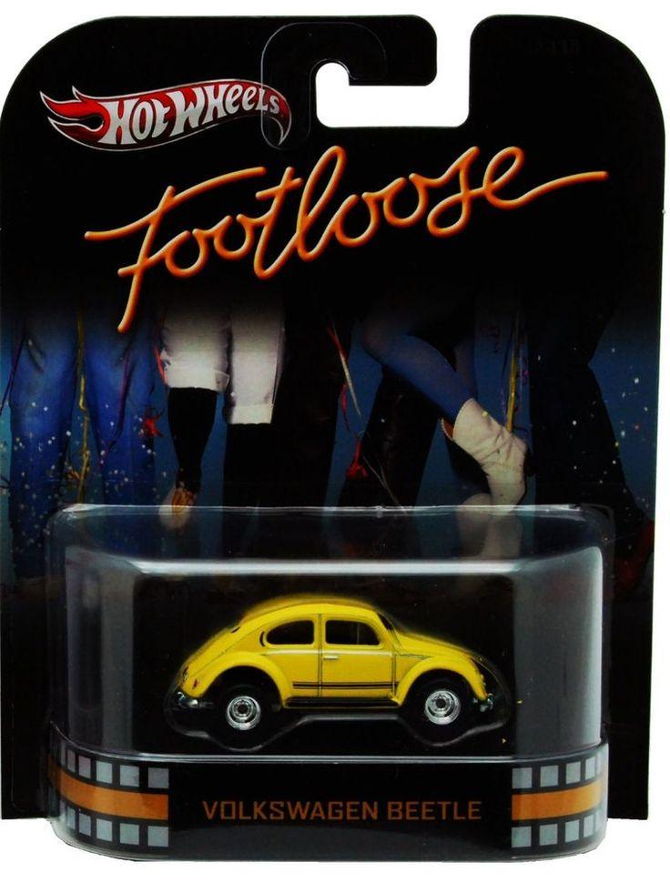 TW5  Hot Wheels VOLKSWAGEN BEETLE FOOTLOOSE YELLOW CAR  Retro Entertainment 1/64 #HotWheels #Volkswagen