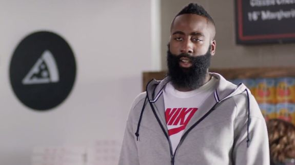 No one has ever accused Houston Rockets forward James Harden of being defensive. So don't insult him by calling him that -- ever.