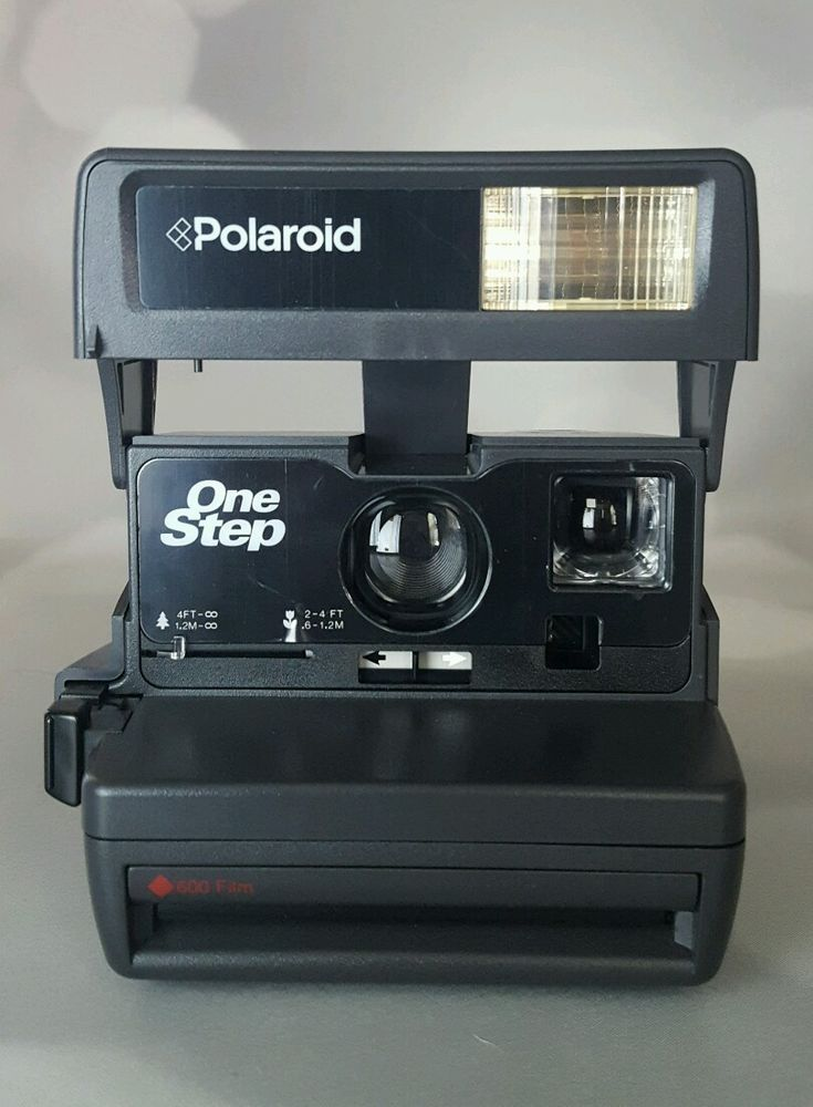 Vintage Polaroid One Step 600 Instant Film Camera Mint Onestep #Polaroid