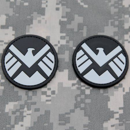 Free Shipping. Buy AVENGERS Movie SHILED Logo Patch Set AGENTS OF SHIELD PVC Rubber Morale Patch by NEO Tactical Gear at Walmart.com