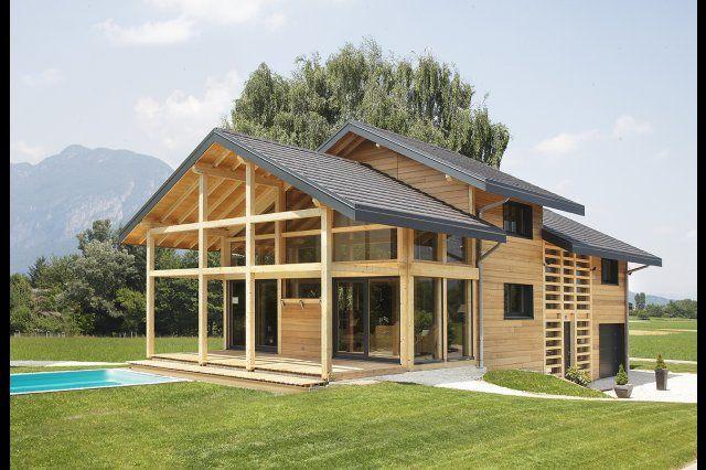 Myotte duquet architecture bois reportage construction for Reportage construction maison