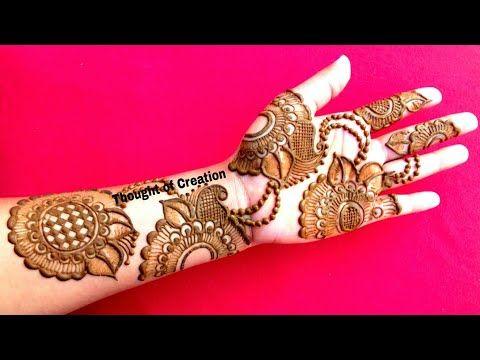 Eid Special Henna Design 2018 Most Stylish and New Mehendi Design for Eid , Weddings - YouTube