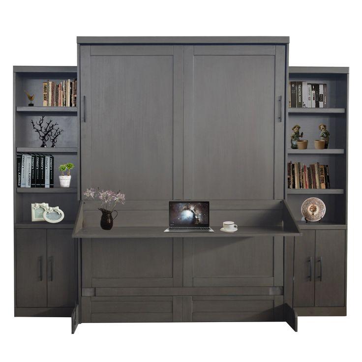 best 25 murphy bed desk ideas on pinterest. Black Bedroom Furniture Sets. Home Design Ideas