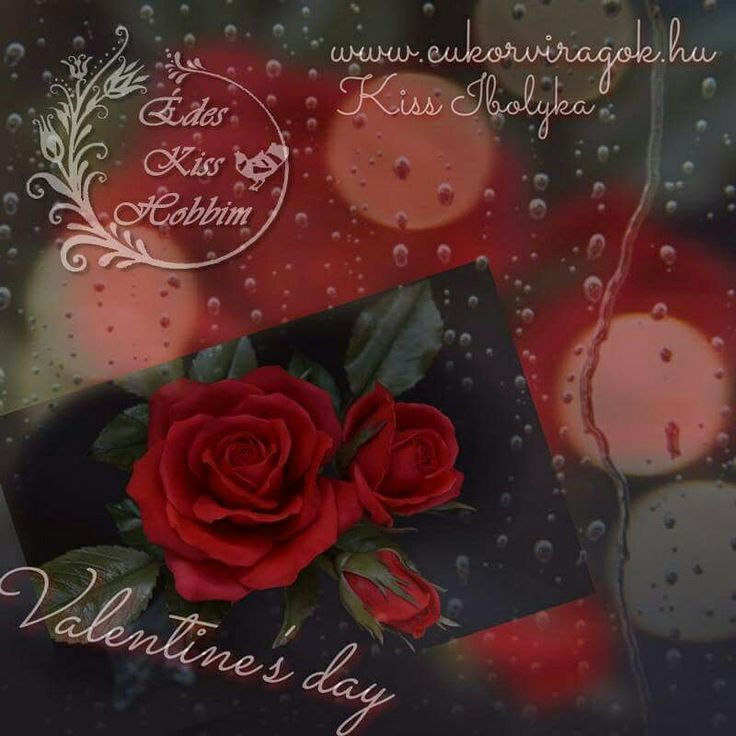 #edeskisshobbim #love #valentineday #sugarart #rose