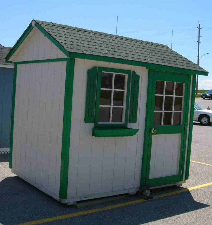 183 best images about garden sheds on pinterest outdoor for Equipment shed plans free