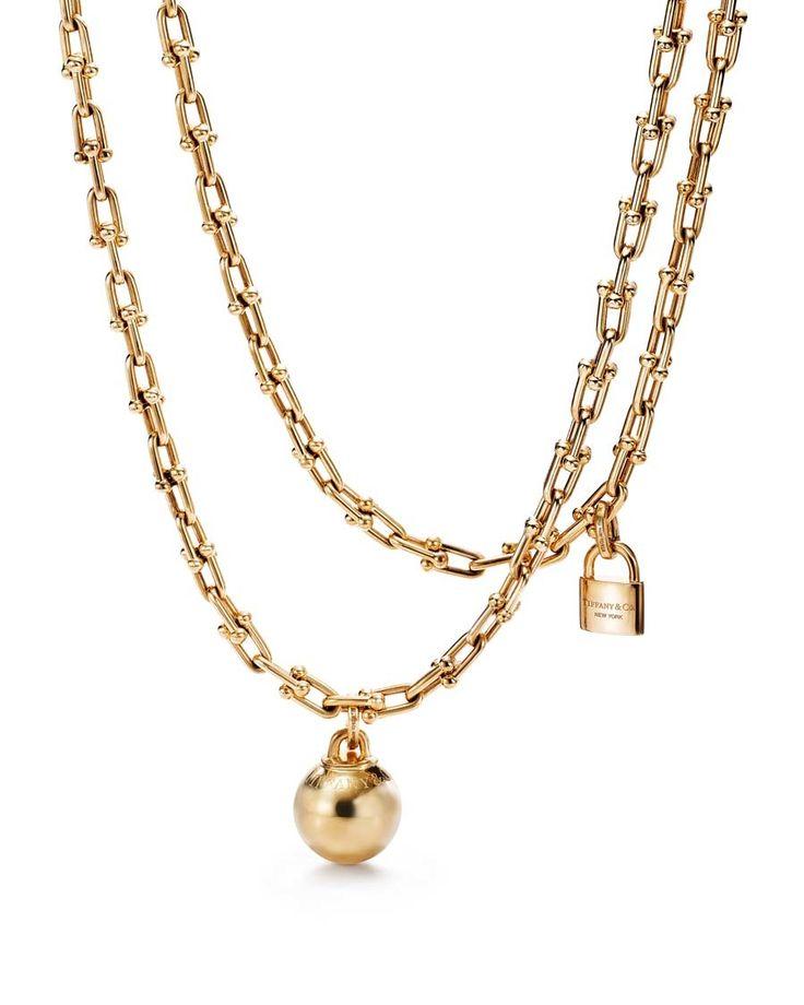 Collar de cadena, de Tiffanys & Co de la colección con Lady Gaga