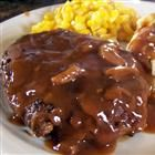 Salisbury steak recipe-this was delicious!  The sauce was our favorite part.  Really good with mashed potatoes.