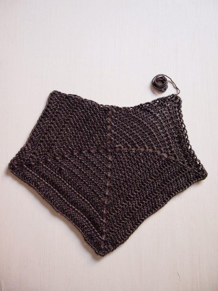 Dress-designer from crocheted squares (Diy) / Knitting / SECOND STREET