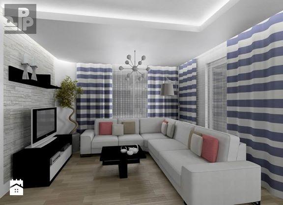 Dom, Wawrzeńczyce - zdjęcie od Pogotowie Projektowe Aleksandra Michalak - Salon - Styl Nowoczesny - Pogotowie Projektowe Aleksandra Michalak