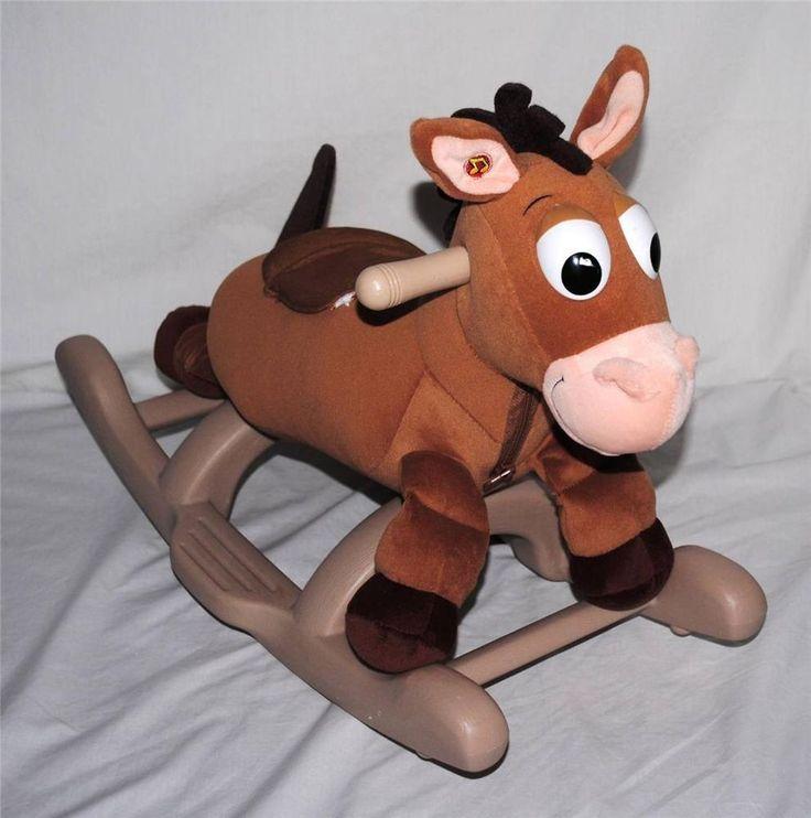 Disney Toy Story My Rocking BULLSEYE Rocking Horse Trotting Sounds & Music