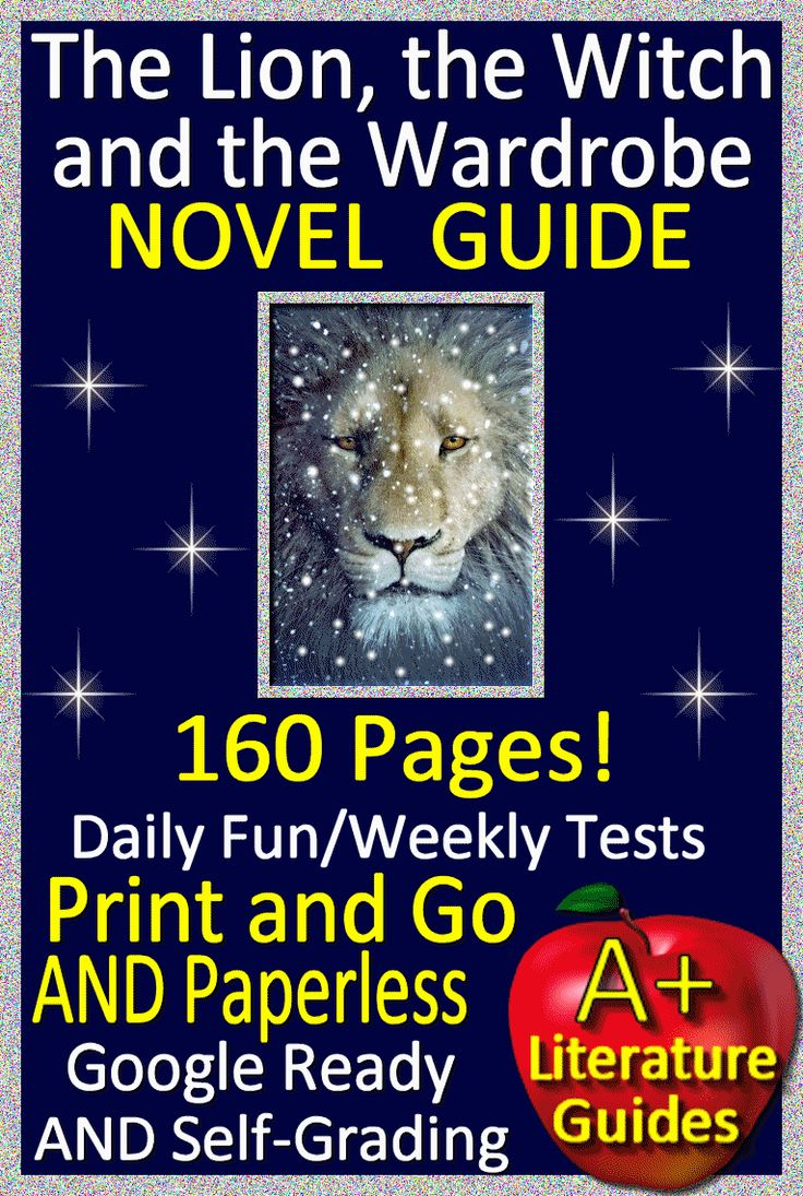 Digital Resource - Free up your time with The Lion, the Witch and the Wardrobe, a 160 page common-core aligned complete Literature Guide for the novel. It can be used with or without Google Drive (Paperless OR Print and Go)This guide can be used as a Print and Go, but also utilizes Google Docs for the Chapter Questions, Google Slides with Movable Parts for Story Elements and Grammar, and Self-Grading Assessments through Socrative for the Vocabulary Quiz, all Chapter Quizzes, and the Final…