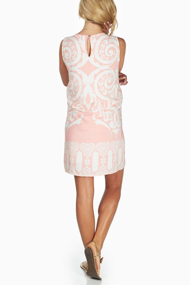 beaucute.com pink maternity dress (26) #maternitydresses