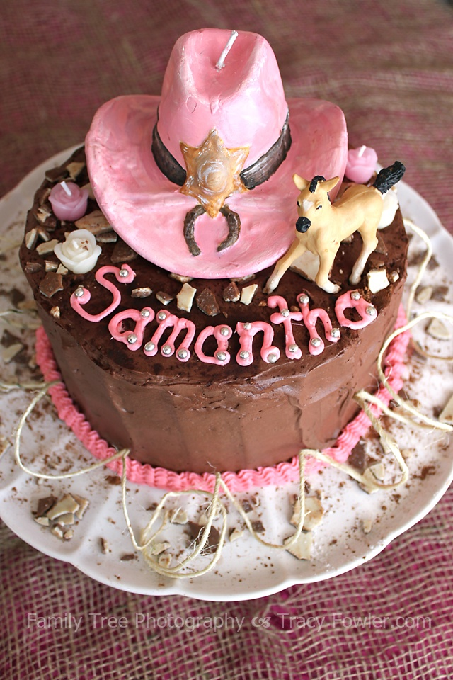 Birthday Cake Pieces Images ~ Cowgirl birthday cake just add broken pieces of beloved kinder eggs to the top even