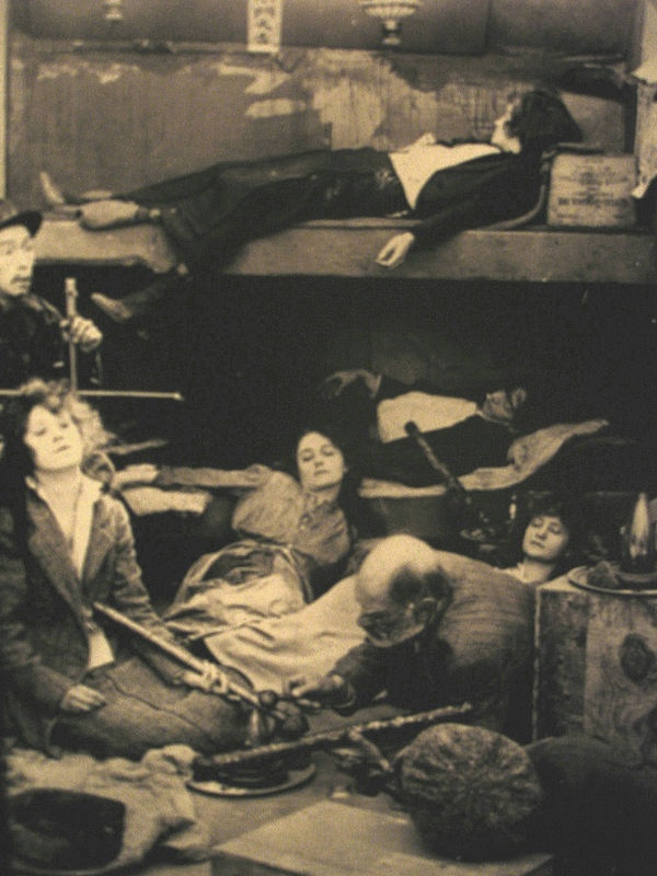 Opium Den, early 20th century